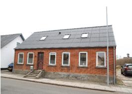 Huset set fra Tingvej